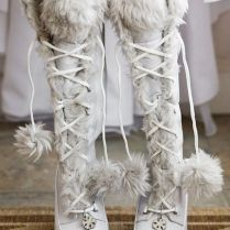 Picture Of Awesome Winter Wedding Shoes And Boots Youll Love