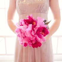 Pink Wedding Bouquet Fuschia And Orchid