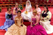 Princess Bridal Party By Malindachan On Deviantart