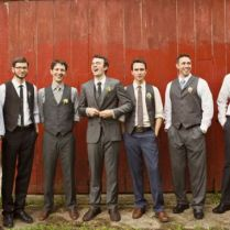 Rustic Mens Wedding Attire