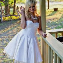 Short Country Wedding Dresses Short Country Wedding Dresses With
