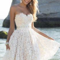 Short White Wedding Dresses 25 Cute Short Wedding Dresses Ideas On