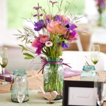 Stunning Country Wedding Flower Arrangements 50 Wildflowers