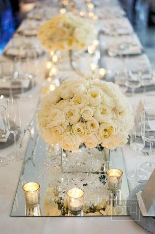 Stunning Mirror Table Decorations Weddings 48 About Remodel