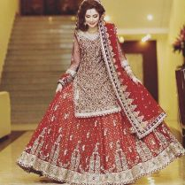 Stunning Pakistani Gowns Photos