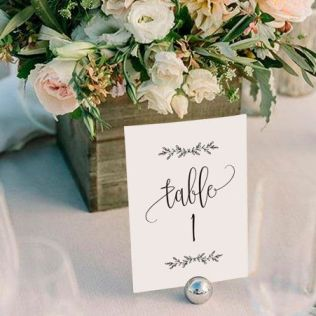 Table Numbers For Wedding Best 25 Wedding Table Numbers Ideas On