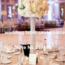 Tall Vases For Wedding Centerpieces Cheap Crystal Bruiloft Tall