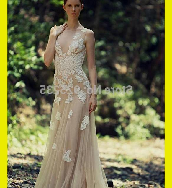 Tan Lace Wedding Dress Naf Dresses