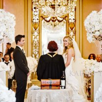 Tbdress Blog Sophisticated Gold And White Wedding Theme