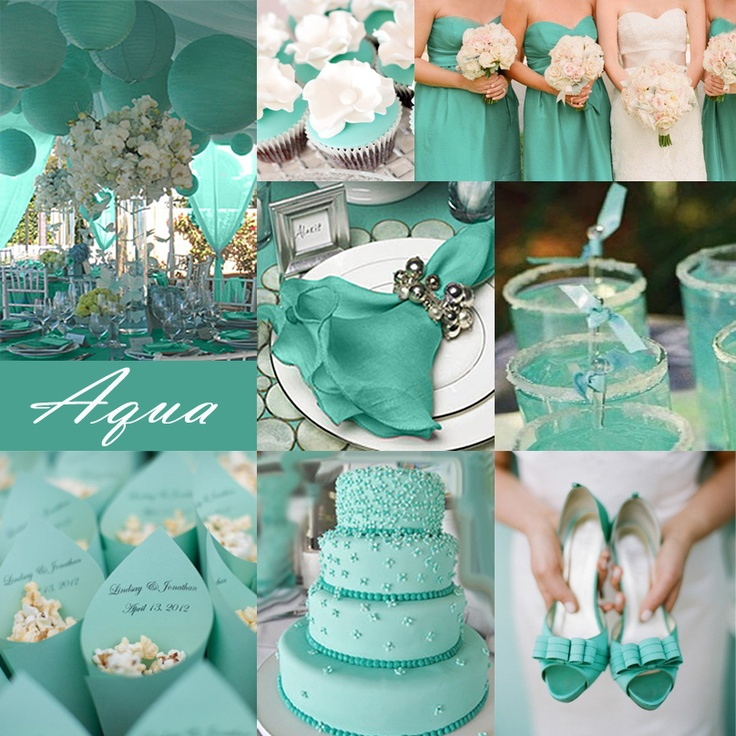 Teal Wedding Ideas For Reception: Teal Wedding Theme