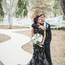 Terrific Black Wedding Dress 1000 Ideas About Black Wedding