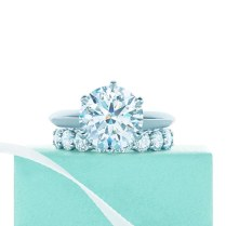 Tiffany Engagement Rings And Wedding Band Pairings