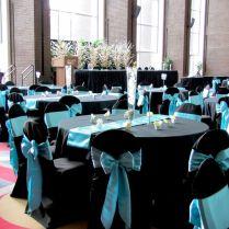 Turquoise Black And White Wedding Ideas 50s Wedding Theme Ideas