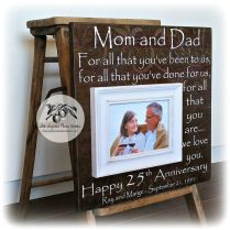 Unique Gifts 25th Anniversary 25th Wedding Anniversary Ideas For