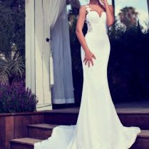 Very Fitted Wedding Dress