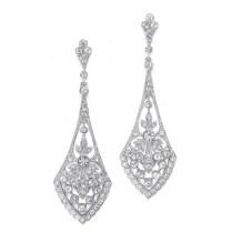 Vintage Bridal Earrings