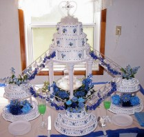 Water Fountain Wedding Cakes