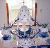Water Fountain Wedding Cakes