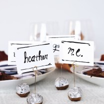 We Can Make Anything Diy Place Card Holders