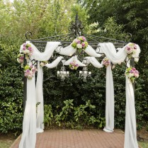 Wedding Arch Decorations Glamorous