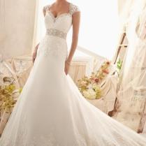 Wedding Dress Detachable Sleeves
