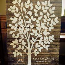 Wedding Guest Book Tree Best 25 Guest Book Tree Ideas On Emasscraft Org