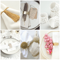 Wedding Napkin Rings
