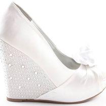 Wedge Wedding Shoes Best 25 Wedge Wedding Shoes Ideas On Emasscraft Org