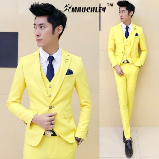 Yellow Prom Suits