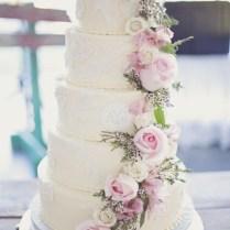 25 Amazing Floral Wedding Cake Ideas