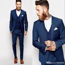 Best 25 Suit For Wedding Ideas On Emasscraft Org Navy Suit Groom Suits