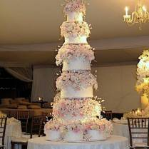 Big Wedding Cakes 5 Huge Beautiful Wedding Cakes Inspired Bride
