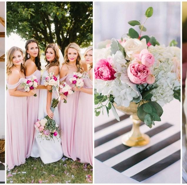 Bright And Modern Kate Spade Inspired Wedding In Oklahoma {sarah