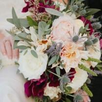 Burgundy Wedding Flowers Fresh Wedding Dj At The Hills Hotel
