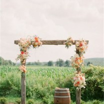 Flowers For Wedding Arch 20 Diy Floral Wedding Arch Decoration