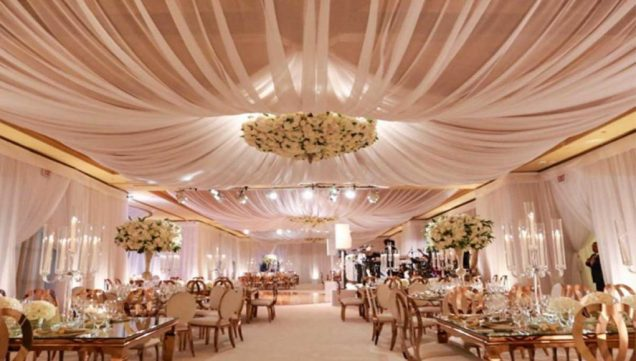 How To Make Ceiling Draping For Weddings Stunning Impression