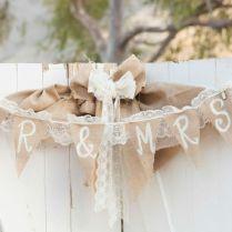 Impressive Wedding Ideas Using Burlap Rustic Wedding Ideas Using