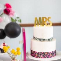 Kara's Party Ideas Kate Spade Inspired Bridal Shower