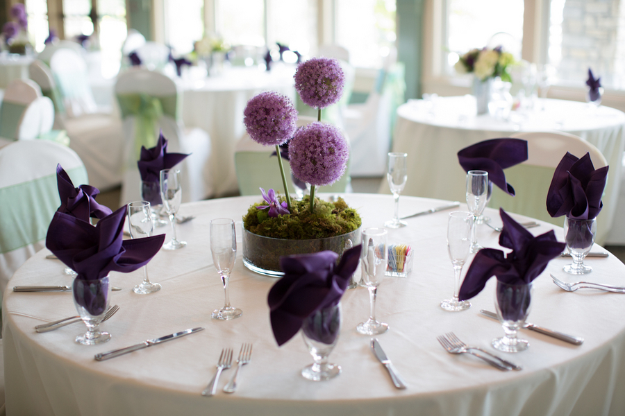 Purple And Grey Wedding Ideas