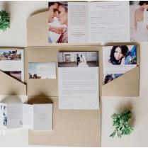 My Welcome Package, Spokane Wedding Photographer