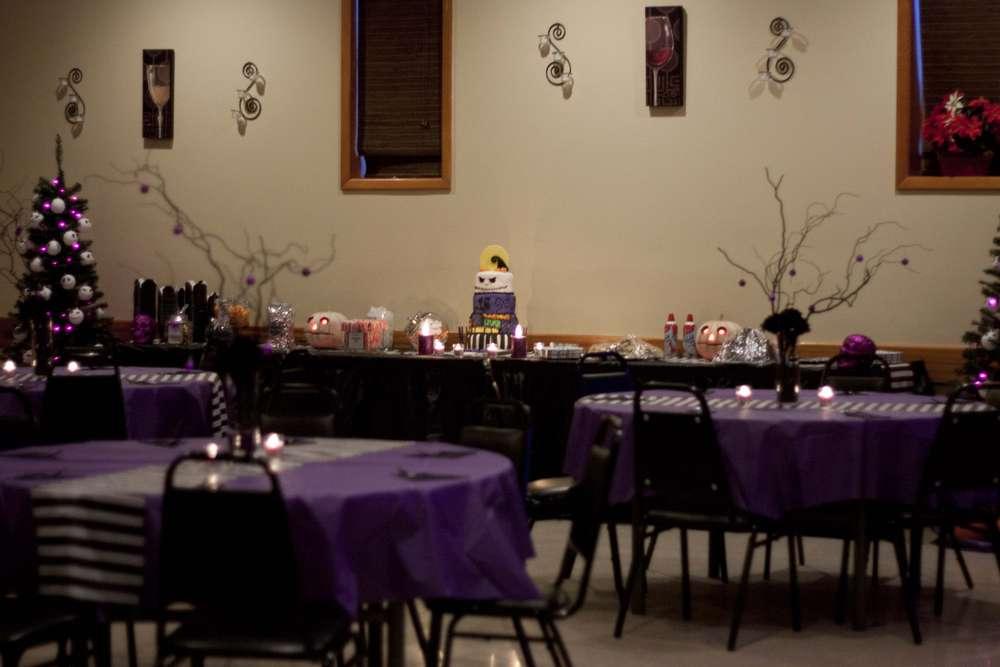 Nightmare Before Christmas Wedding Decorations