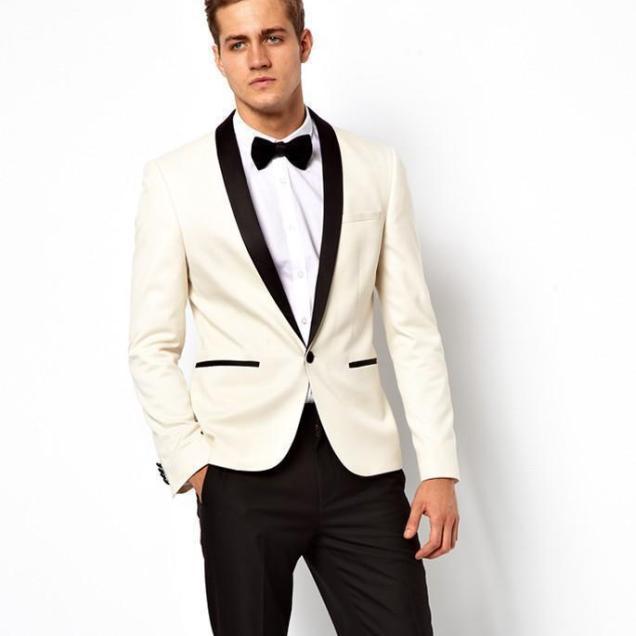Online Get Cheap Mens Tuxedo Suits Black Ivory