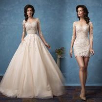 Wedding Dresses With Removable Skirt – Watchfreak Women Fashions