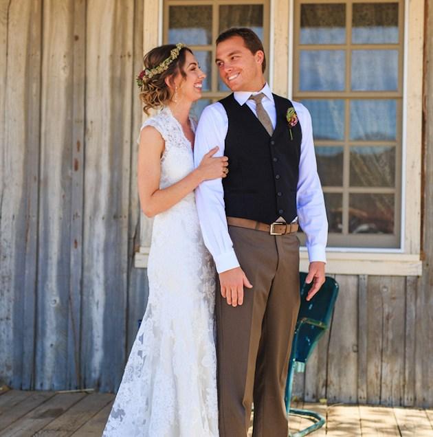 Western Wedding Romantic Western Wedding With Chic Rustic Details