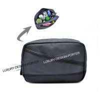 Elegant Business Men Toiletry Bag Travel Organizer Cosmetic Bag