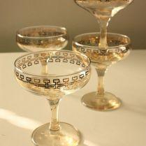 Vintage Champagne Glasses