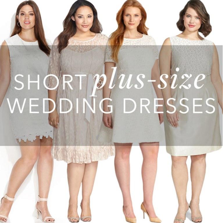 Courthouse Wedding Dress Plus Size