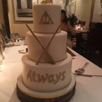 I Got To Design My Side Of My Wedding Cake