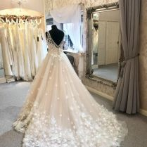 3d Floral Wedding Dress Bridal Boutique Wakefield And