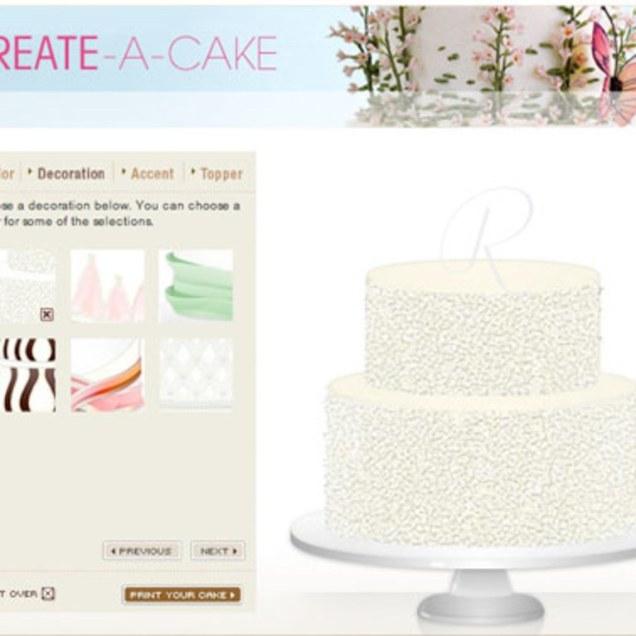 Design My Own Wedding Cake Online!